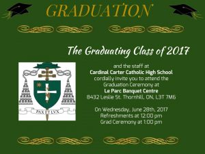 Graduation 2017 @ Le Parc Banquet Centre | Markham | Ontario | Canada