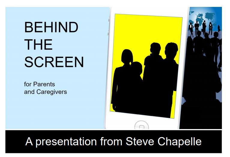 Parent presentation: Behind the Screen